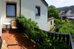 Gästezimmer Balkon